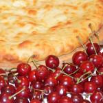 Осетинский пирог с вишней